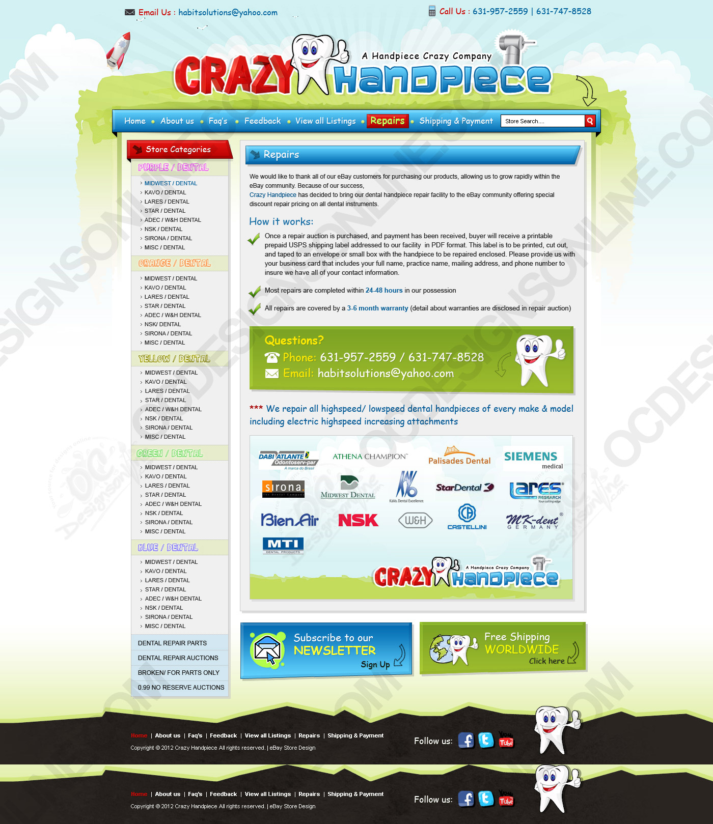 Ebay Store Design Listing Template Design About Us Page Layout And