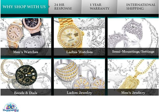 Jewelry and Watches eBay Store Design