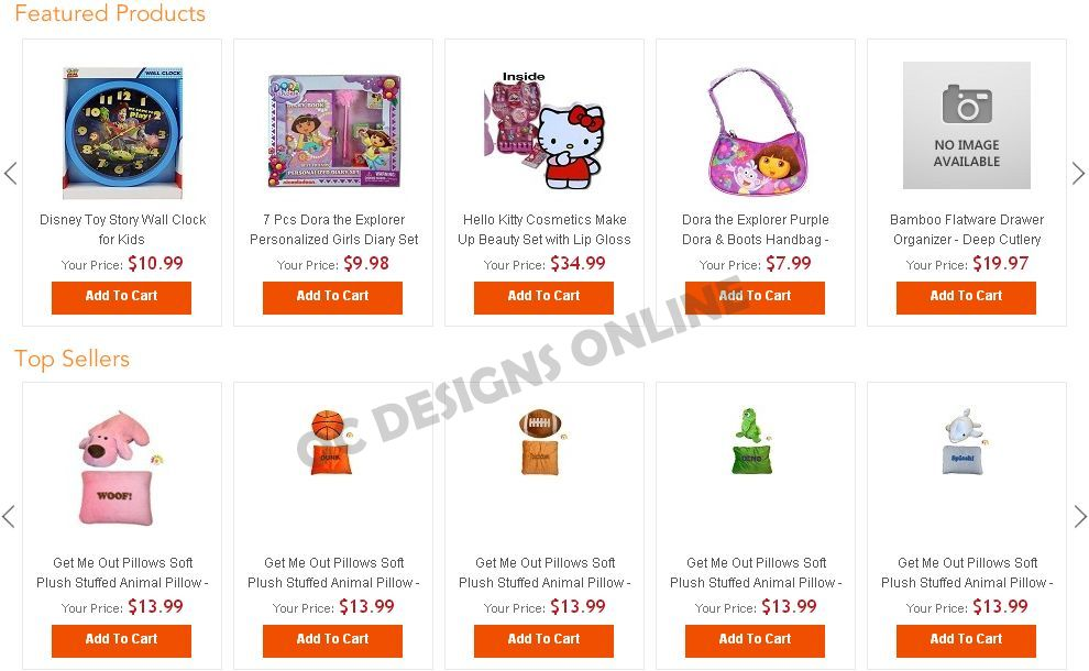 3DCart store designs