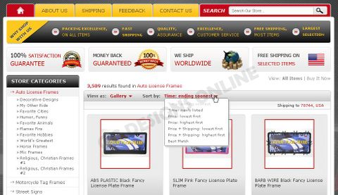 TagExpress Takes Advantage of eBay Store Design and Category Page ...