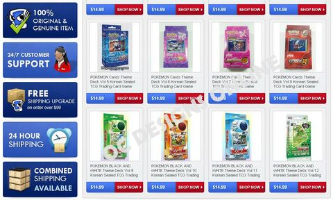 Game card retailer ecommerce store design