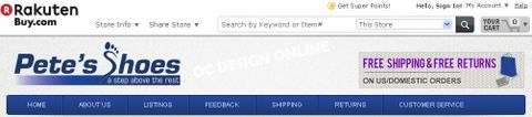 How Much do Buy.com store designs cost