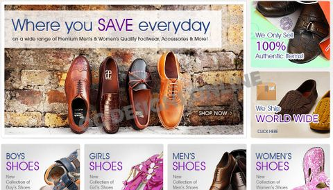 Buy.com store design for Pete's Shoes