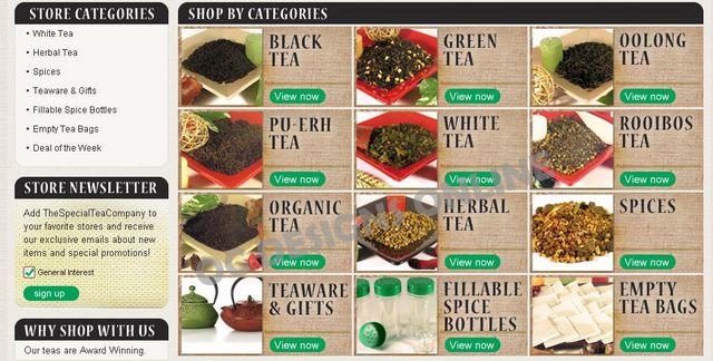 Food and beverage eBay store design