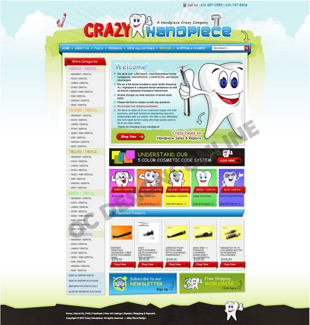 Custom e-commerce store designs