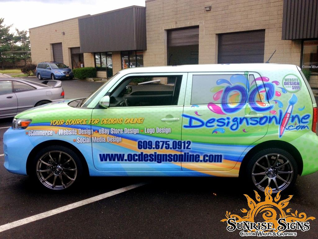 Use vehicle wraps to advertise your e-commerce store