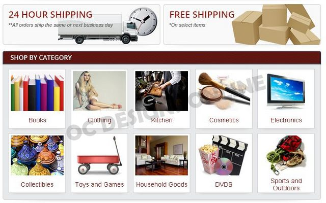 eBay store design must have elements