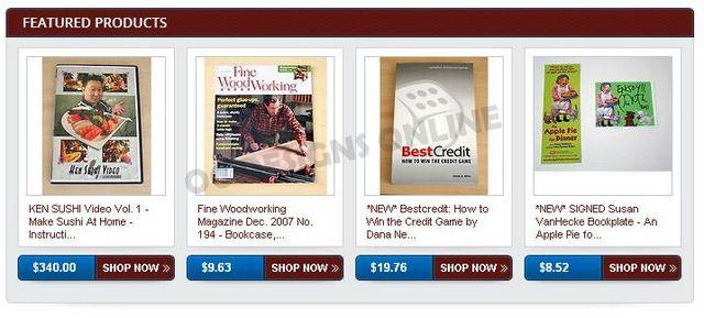 Custom eBay store listing template design