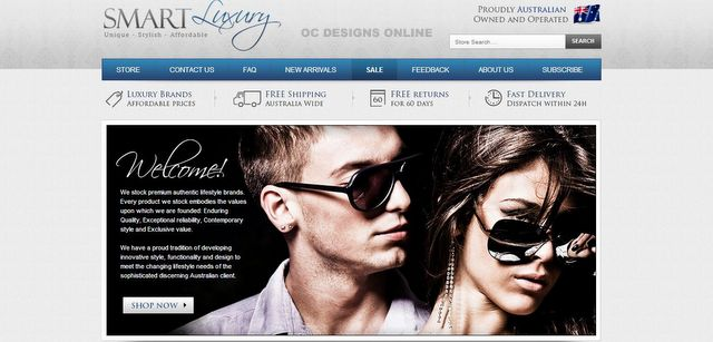 eBay store design with matching listing template