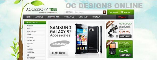 Yahoo! Ecommerce store design