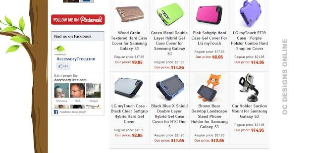 Ecommerce store designs for Yahoo!