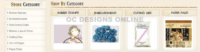 Scrapbooking and Crafts BigCommerce Store Design