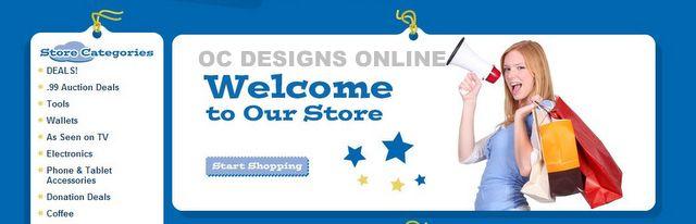 Variety Store eBay Design