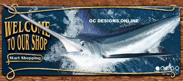 Fishing eBay store design
