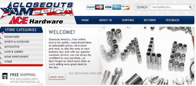 Hardware eBay store design