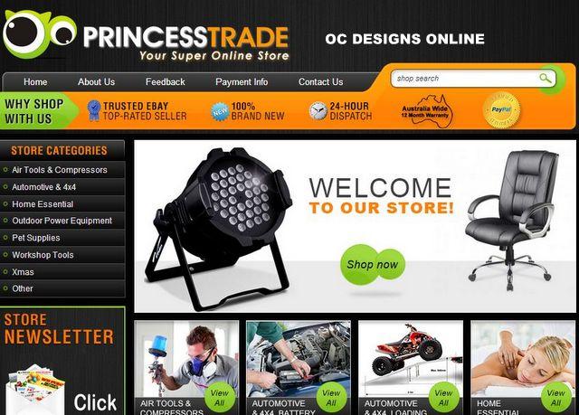 Australian eBay Store Designs