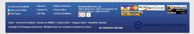 3DCart social media options