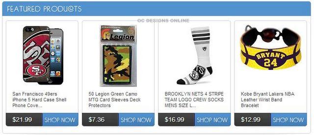 eBay custom listing templates