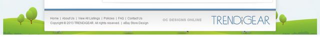 Custom eBay sitemap design