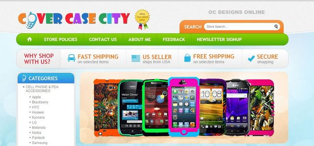 competitive price 20822 e16e2 Awesome eBay Store Design for Cell Phone Case Retailer