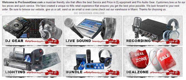 Audio Video Bigcommerce store design