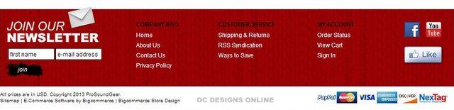 Custom Bigcommerce store design
