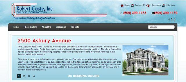 Custom Website Landing Page Design