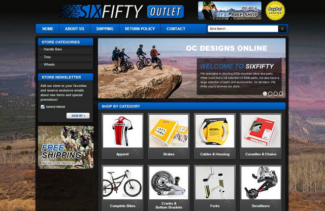 Bike shops it 39 s easy to get a custom ebay store design for Ebay store design templates free