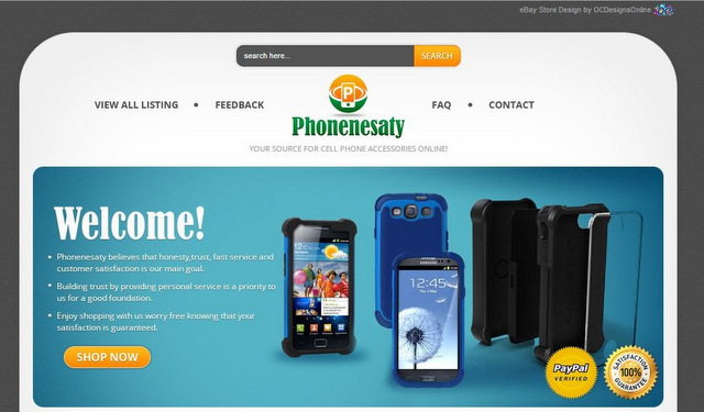 Best Cell Phone eBay Store Designs