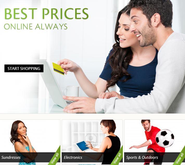 Online Discount Retailer BigCommerce Store Design