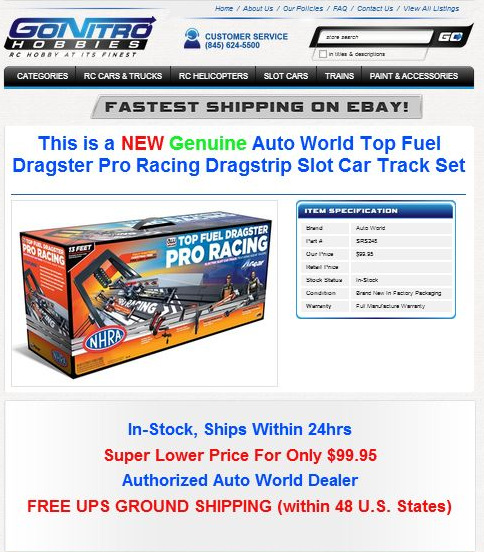 Go Nitro Hobbies eBay Templates