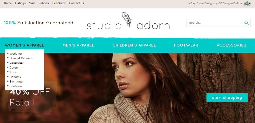 Graphics and Display Amazon Store Design