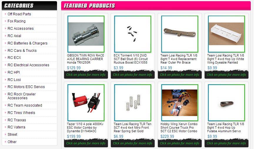 Custom eBay Store Templates