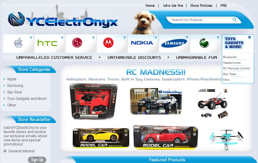 Graphics and Display eBay Store Design