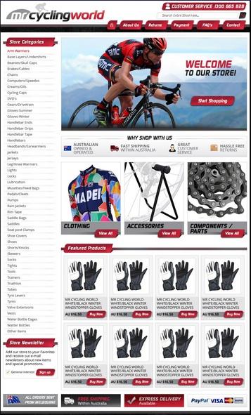 eBay Responsive Web Design