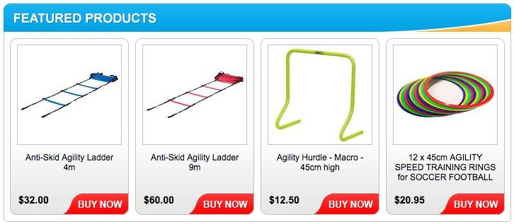Custom Australia eBay Store Footer