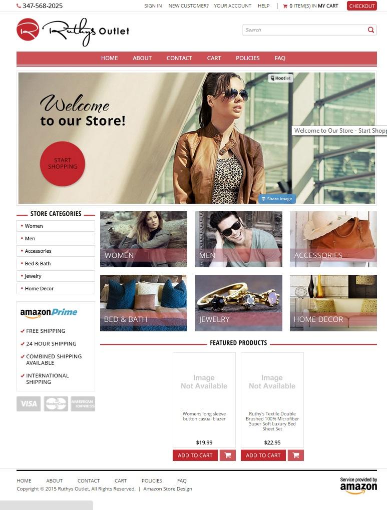 Custom Amazon Store