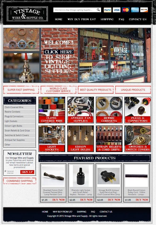 Custom eBay Store