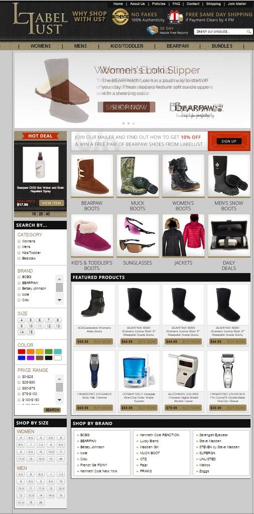 custom eBay store design
