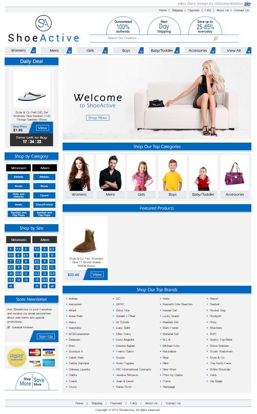 eBay shoe store
