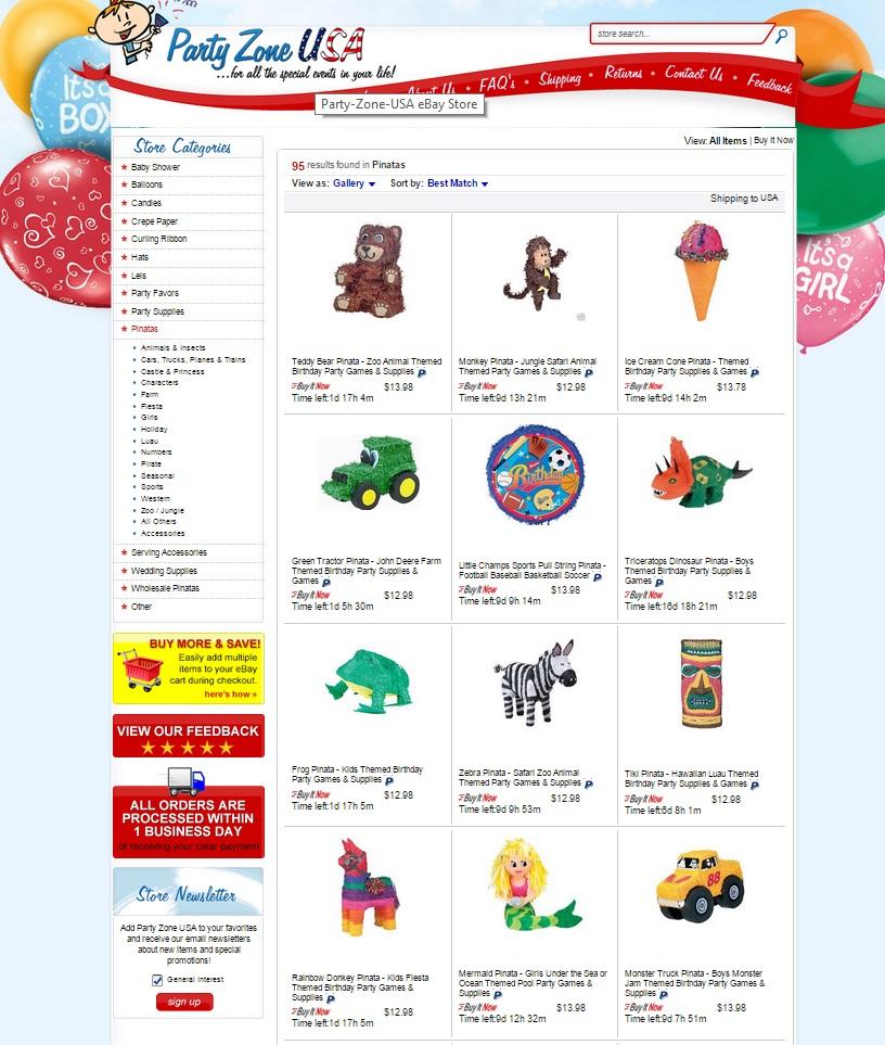 eBay category page
