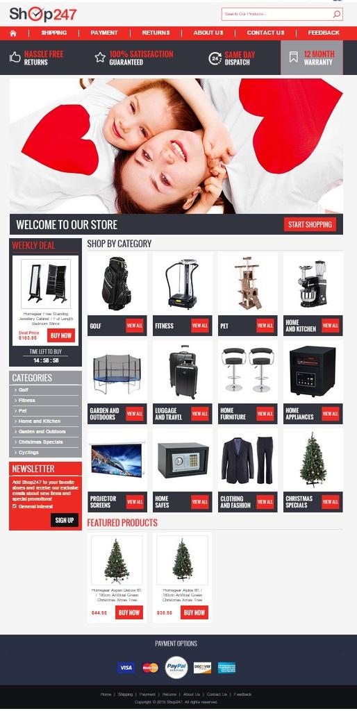 AU eBay store design