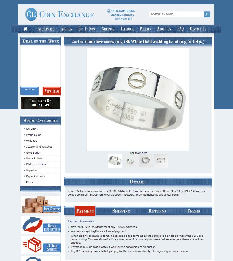 Custom eBay listing templates from OCDesignsonline