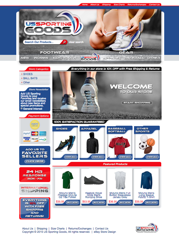 Get a custom eBay storefront design and listing template from OCDesignsonline