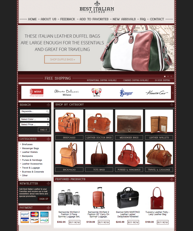 Get an eBay store design that matches your brand image from OCDesignsonline