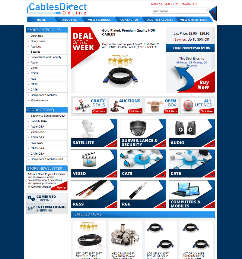 Grab a free quote on your new eBay store design using OCDesignsonline
