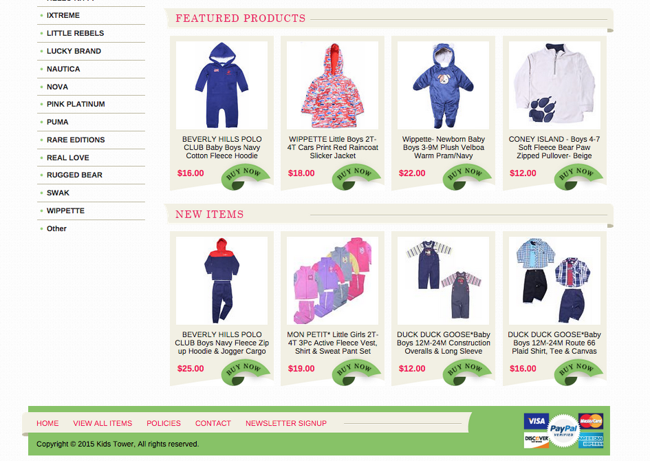 Featured products sections increase sales