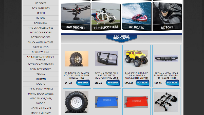RC stores selling more with ocdesignsonlines