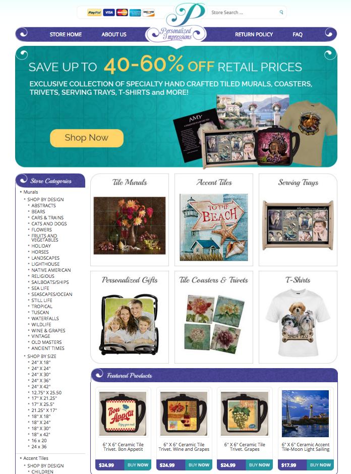 OCDesignsonline eBay store designs