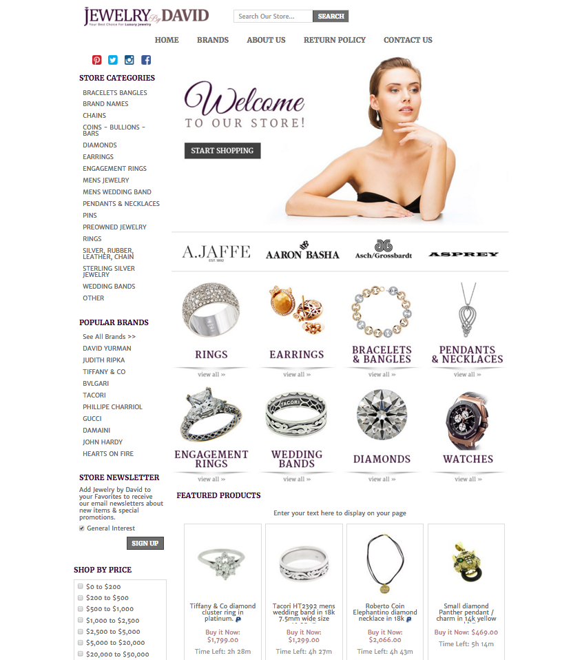Jewelry stores that sell more